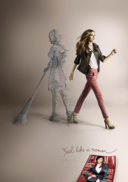 Laima: FEEL LIKE A WOMAN Print Ad by Not Perfect | Y&R Vilnius