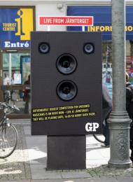 Goteborgs-posten: GP SCENE Ambient Advert