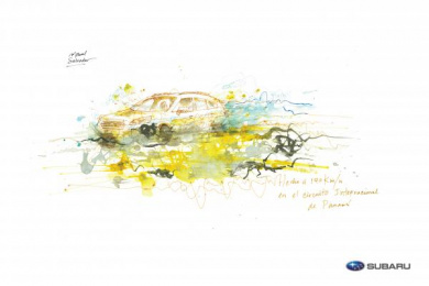 Subaru: The Art Of Driving, 2 Print Ad by I N D E P E N D I E N T E Panama City