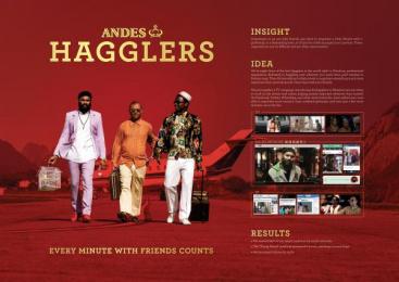 Andes: Hagglers Case study by Del Campo Saatchi & Saatchi Buenos Aires, Landia