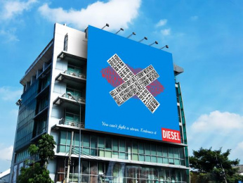 Diesel: Embrace It, 3 Outdoor Advert by Miami Ad School New York
