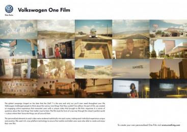 Volkswagen Golf 7: VOLKSWAGEN - ONE FILM Digital Advert by Tribal London