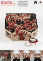 Pizza Hut: Blockbuster Box, 4 Direct marketing by Hogarth Worldwide, Ogilvy & Mather Hong Kong