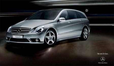 Mercedes-benz R-class: R-CLASS Print Ad by Colnaghi & Manciani