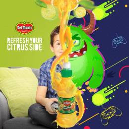 Del Monte: Citrus Side, 2 Print Ad by CM America