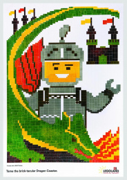 Legoland: Knight Print Ad by VML New York