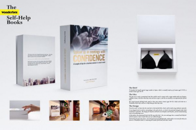 Wonderbra: Self-Help Books, Business Direct marketing by Publicis Madrid