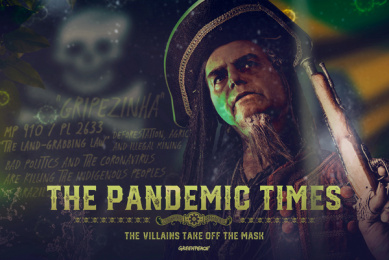 Greenpeace: The Pandemic Times - Brazil Print Ad by Lion Heart