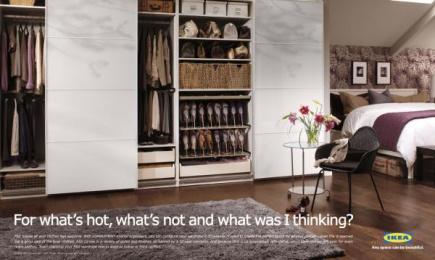 IKEA: Hot Print Ad by Zig Toronto