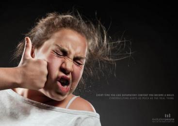 Evolution People: Bully, 3 Print Ad by Lowe Pirella Milan