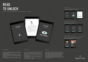 Berattarministeriet: Read To Unlock, 12 Digital Advert by King