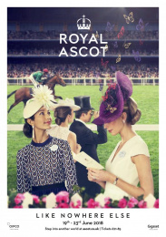 Royal Ascot: An Occasion Like Nowhere Else, 1 Print Ad by Antidote