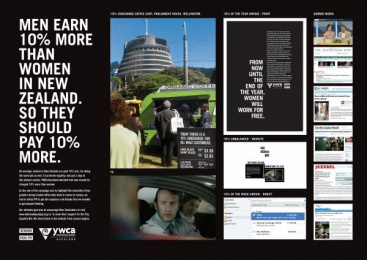 Ywca: DEMAND EQUAL PAY Case study by DDB Auckland