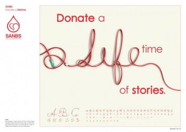 South African National Blood Service (SANBS): SANBS Campaign, 2 Design & Branding by Lowe Johannesburg