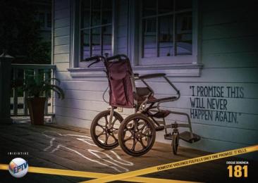Disque-Denuncia: Crime Scene, 2 Print Ad by Arpejo