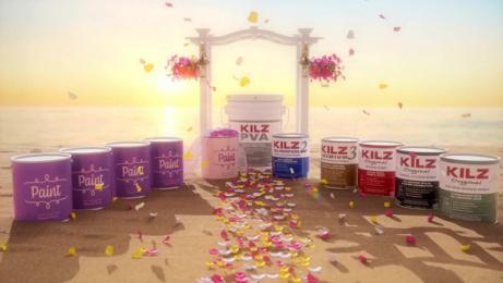 Kilz: Paint Loves Primer Digital Advert by Arcana Academy