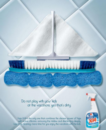 Veja Degreaser Kitchen Cleaner: Vacation Print Ad by Euro Rscg Sao Paulo