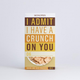 Monoprix: Crackers Print Ad by Muscle, Rosapark Paris