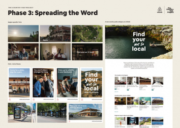Airbnb: The Country Pub Project - Phase 3: Spreading the Word - TVC, Outdoor, Product Print Ad by Airbnb / San Francisco