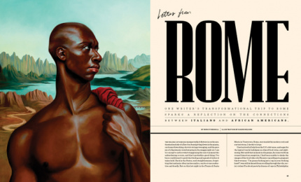 Airbnb: Letter From Rome Print Ad by Airbnb Magazine / New York