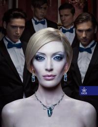 Kiev Jewellery Factory: Snow queen Print Ad by Kinograf Kiev