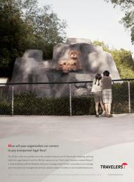Travelers: BEARS Print Ad by Fallon Minneapolis