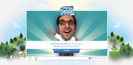 Volkswagen: Je Préfère Papa Digital Advert by V Agency Paris