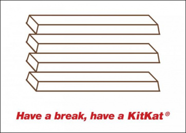 Kit-kat: Have a break, 1 Outdoor Advert by J. Walter Thompson London