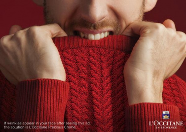 L'occitane: Sweater Print Ad by DokuzDoksan