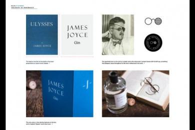 James Joyce Gin: James Joyce Gin, 2 Design & Branding by Shane O'Riordan Design Ireland