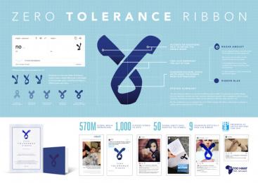 28 Too Many: Zero Tolerance Ribbon, 1 Print Ad by Impact BBDO Dubai, Impact Porter Novelli Dubai