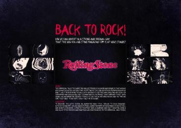 Rolling Stone: BACK TO ROCK Digital Advert by DLV BBDO Milan
