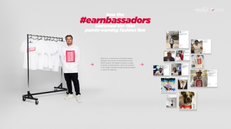 Velocity Frequent Flyer: The Earnbassadors, 2 Print Ad by CHE Proximity Australia
