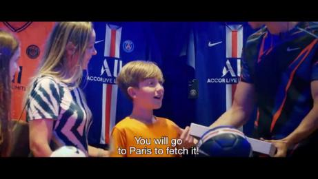 Accor Live Limitless: Paris Saint-Germain Used Jersey Film by Havas Sports & Entertainment Paris, ALLSO