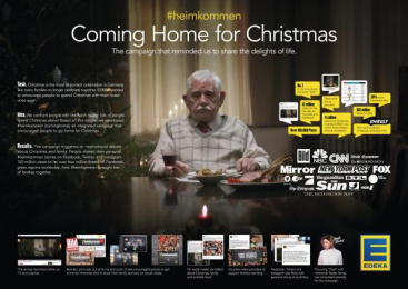 Edeka: Home for Christmas [image] Case study by Jung Von Matt/Alster Hamburg, Tempomedia Filmproduktion