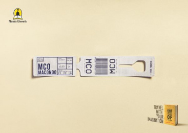 Mundo Literario: One Hundred Years of Solitude Print Ad by 4am Saatchi & Saatchi Honduras