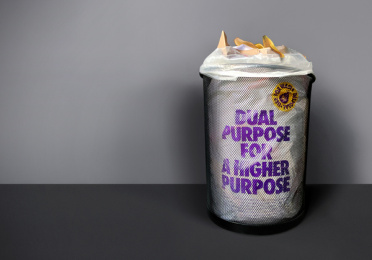 Violeta: Dual purpose for a higher purpose, 2 Print Ad by Saatchi & Saatchi Croatia