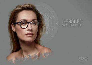 Orgreen Optics: Joyce Print Ad by Energize