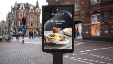 Donald Russell: Design & Branding Print Ad