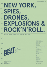 Beat Film Festival: Beat Film Festival Posters, 10 Design & Branding by BBDO Moscow