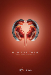 Fortis Healthcare: World Kidney Day - Shoes Print Ad by Grey Mumbai