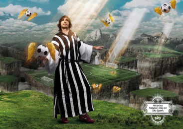 Sky Sports: Miracles, Pirlo Print Ad by Grey United Milan