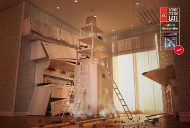 Detsky Mir: Kitchen - Rocket Print Ad by Lowe Adventa Moscow