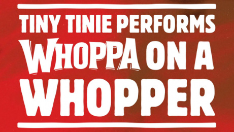 Burger King: Whoppa on a Whopper Film by BBH London