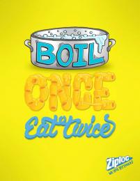 Ziploc: We love leftovers, 2 Print Ad by Miami Ad School Miami
