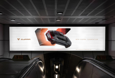 Cupra: Another Way, 3 Outdoor Advert by Droga5 London