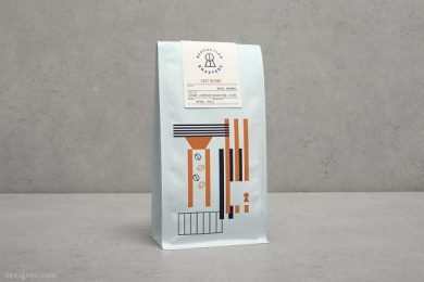 Redemption Roasters: Redemption Roasters, 3 Design & Branding by Here Design London