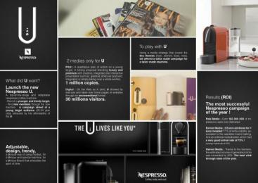 Nescafe Nespresso: NESPRESSO U Promo / PR Ad by ZenithOptimedia Paris