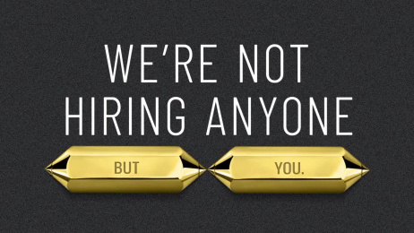 One Show: Win Pencil, Draw Respect - Not Hiring Film by Zulu Alpha Kilo