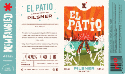 Newfangled Brew Works: El Patio Can Design [case study] Print Ad by quench Harrisburg